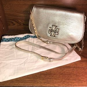 Authentic Tory Burch Britten Crossbody/Clutch Bag